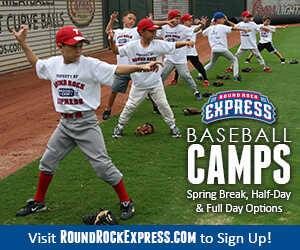 Round Rock Express Summer Camps