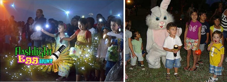 Flashlight Egg Hunt and Movie in the Park in Round Rock, Texas