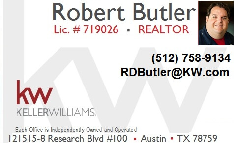 Robert Butler Keller Williams Round Rock Texas
