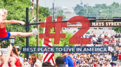 Round Rock Texas Best Place to Live in America