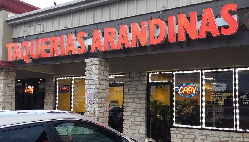 Arandinas Restaurant Round Rock