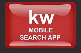 KW Mobile App Black background
